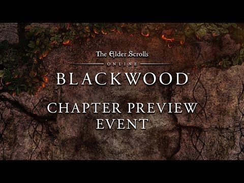 The Elder Scrolls Online: Blackwood Chapter Preview Event
