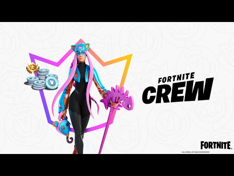 From the catwalk to the Island, Alli struts with style into the Fortnite Crew in April