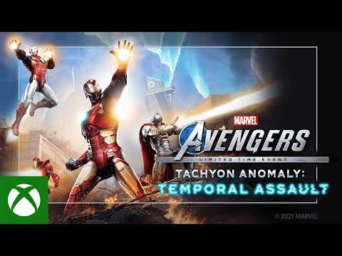 Marvel's Avengers Tachyon Anomaly Event — Trailer
