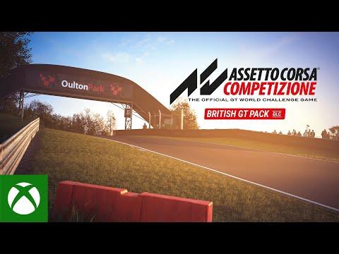 Assetto Corsa Competizione — British GT Pack DLC Launch Trailer