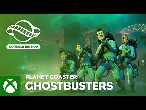 Planet Coaster: Console Edition | Ghostbusters Trailer