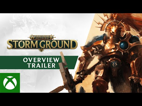 Warhammer Age of Sigmar: Storm Ground — Gameplay Overview Trailer