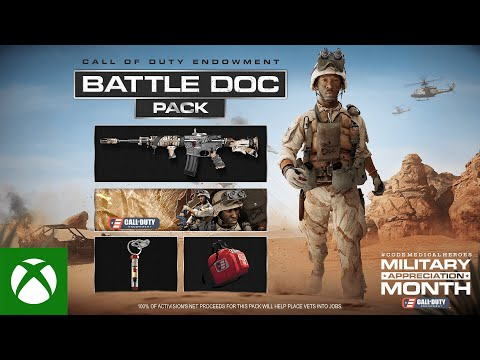 C.O.D.E. Battle Doc Packfor Call of Duty®: Black Ops Cold War and Call of Duty® Warzone™