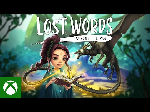 Lost Words: Beyond the Page – Launch Trailer — Available Now!