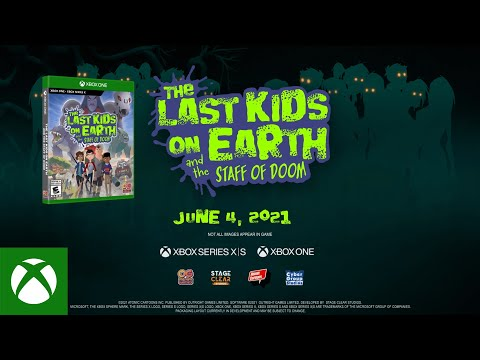 The Last Kids On Earth and the Staff of Doom — Story Trailer
