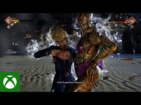 JUMP FORCE — Giorno Giovanna Gameplay Trailer — Xbox One