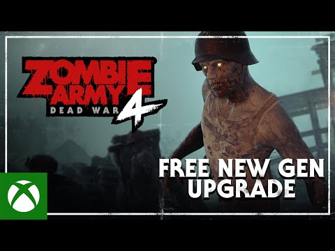 Zombie Army 4: Dead War — Free New Gen Upgrade