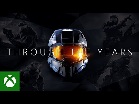 Master Chief through the years