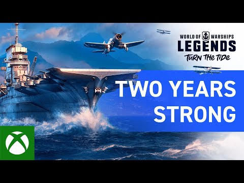 World of Warships: Legends – Two Years Strong