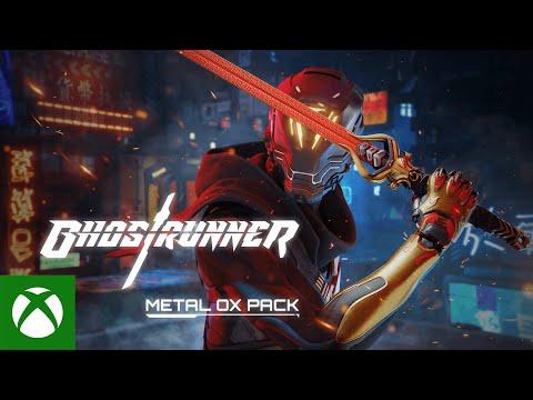 Ghostrunner — Metal Ox Pack DLC Launch Trailer