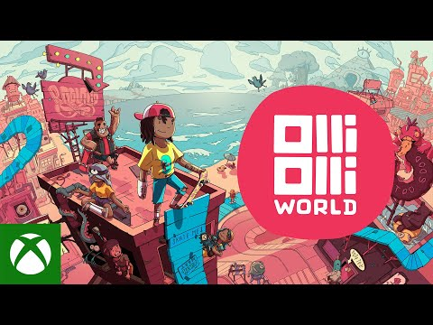 OlliOlli World — Official Reveal Trailer