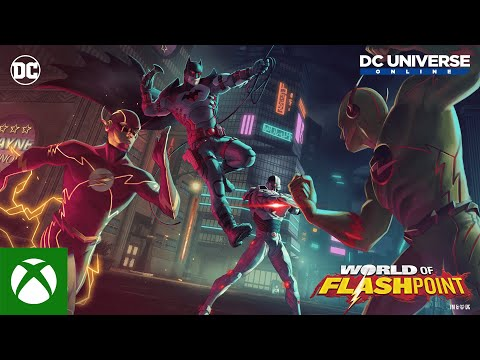 DC Universe™ Online — World of Flashpoint Launch Trailer