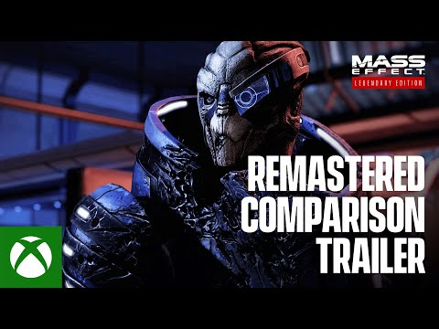 Mass Effect Legendary Edition – Official Remastered Comparison Trailer [4K]