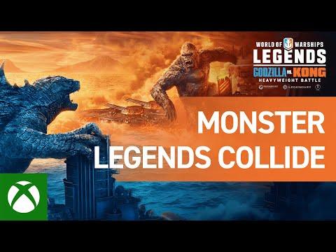 World of Warships: Legends – Monster Legends Collide