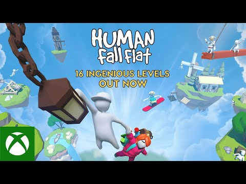 Human: Fall Flat | 16 Amazing Levels