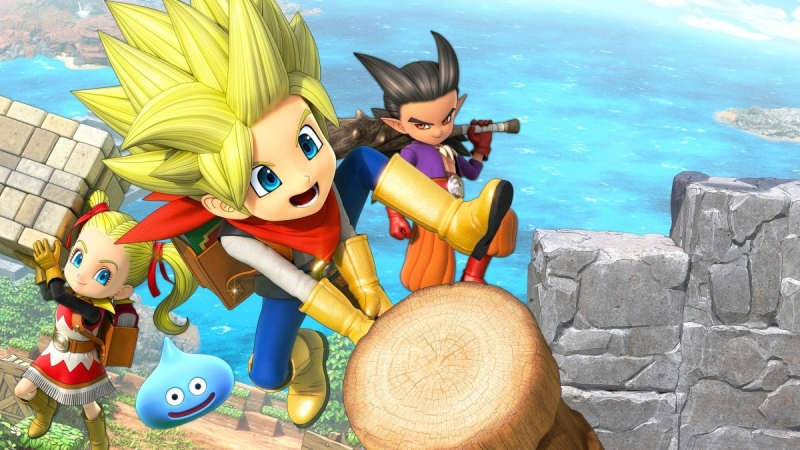 DRAGON QUEST BUILDERS 2 Is Now Available For Digital Pre-order And Pre-download On Xbox One And Xbox Series X|S