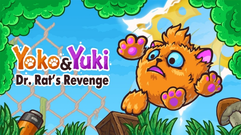 Yoko & Yuki: Dr. Rat's Revenge Is Now Available For Digital Pre-order And Pre-download On Xbox One And Xbox Series X|S