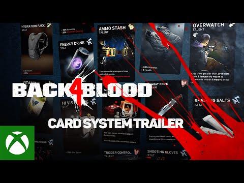 Back 4 Blood — Card System Trailer
