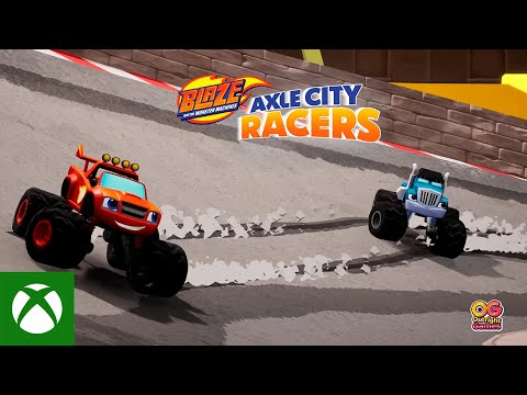 Blaze and the Monster Machines Axle City Racers  — Announce  Trailer