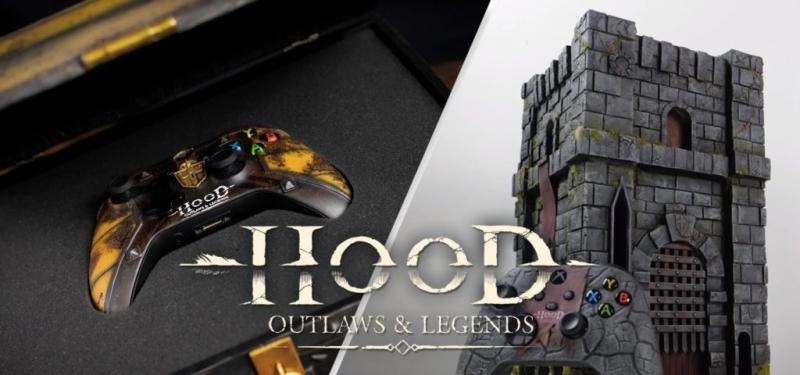 Кастомные консоли Xbox One X и Xbox Series X в стиле Hood Outlaws & Legends