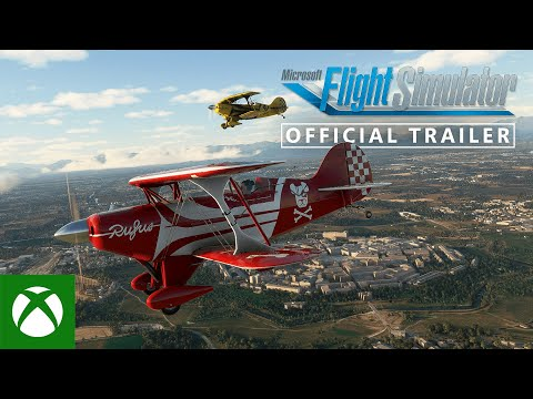 Microsoft Flight Simulator — Xbox Series X|S Gameplay Trailer — Xbox & Bethesda Games Showcase 2021