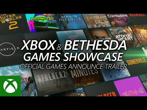 Xbox Games — Announce Trailer — Xbox & Bethesda Games Showcase 2021