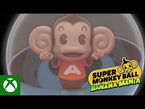 Super Monkey Ball Banana Mania — Announcement Trailer