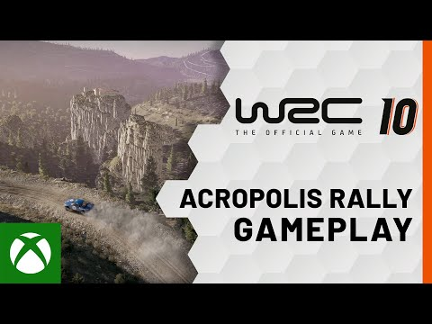 WRC 10 — Acropolis Rally Greece Gameplay