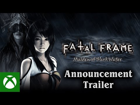 FATAL FRAME: Maiden of Black Water — Announcement Trailer