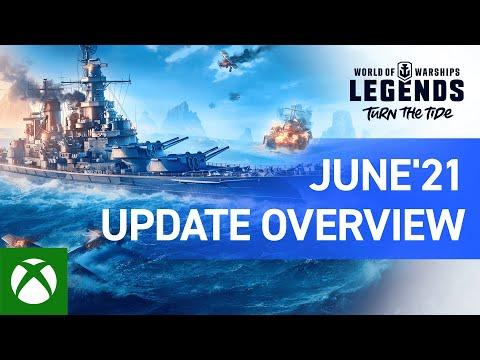World of Warships: Legends – June Update Overview