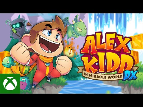 Alex Kidd in Miracle World DX — Launch Trailer