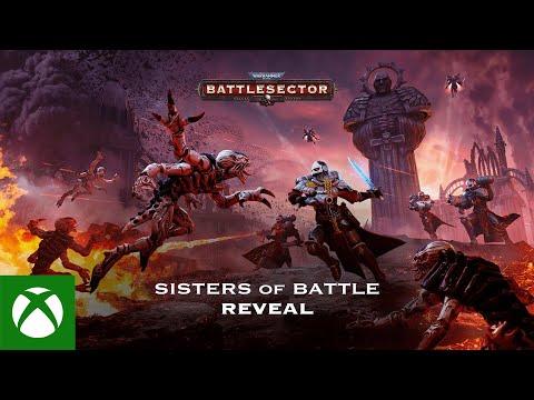 Warhammer 40,000: Battlesector — Sisters of Battle Reveal Trailer