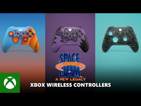 Space Jam: A New Legacy Xbox Controllers — Official Reveal