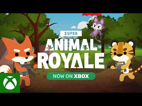 Super Animal Royale — Game Preview Announce Trailer   Xbox Series X S