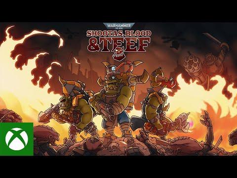 Warhammer 40,000: Shootas, Blood & Teef — Announcement Trailer
