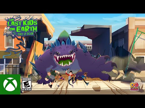 The Last Kids On Earth And The Staff Of Doom — Launch Trailer