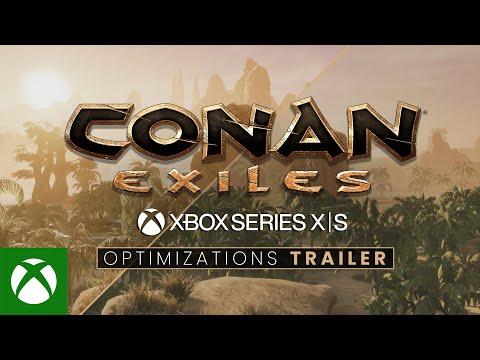 Conan Exiles — Xbox Series X S Optimizations Trailer
