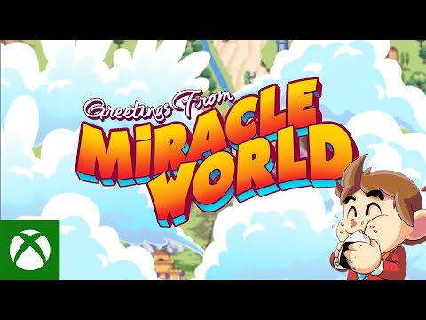 Alex Kidd in Miracle World DX — Greetings From Miracle World Travelogue