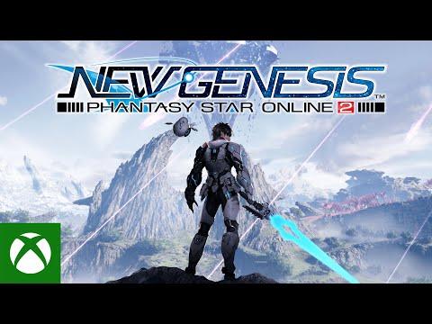 Phantasy Star Online 2 New Genesis Launch Trailer