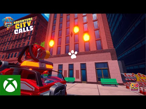 PAW Patrol The Movie Adventure City Calls — Announce Trailer