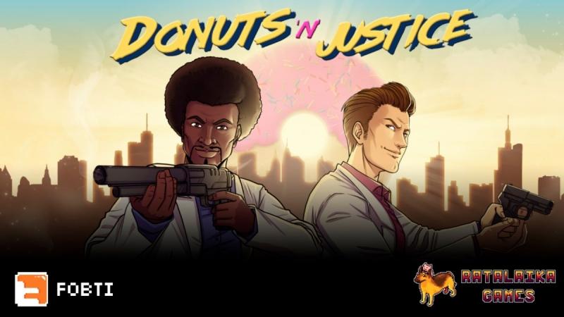 Donuts'n'Justice Is Now Available For Xbox One And Xbox Series X|S