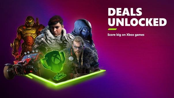 Скидка на игру Xbox Microsoft анонсировала крупную распродажу Xbox's Deals Unlocked которая стартует 11 июня и продлится до 17 июня 2021 года.