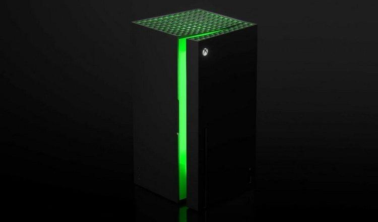 Мини-холодильники в виде Xbox Series X поступят в продажу ближе к концу года