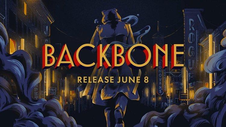 Нуар-приключение Backbone про антропоморфного енота-детектива выйдет на ПК в начале июня
