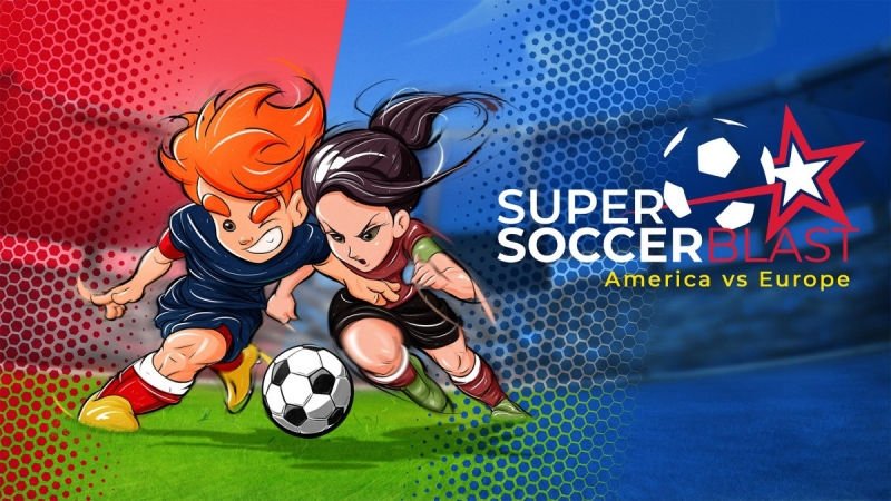 Super Soccer Blast: America vs Europe Is Now Available For Digital Pre-order And Pre-download On Xbox One And Xbox Series X|S
