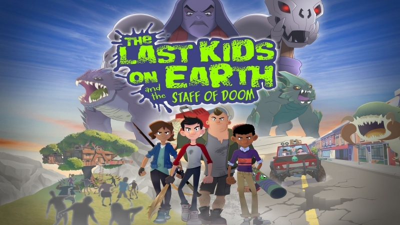 The Last Kids On Earth And The Staff Of Doom Is Now Available For Xbox One And Xbox Series X|S