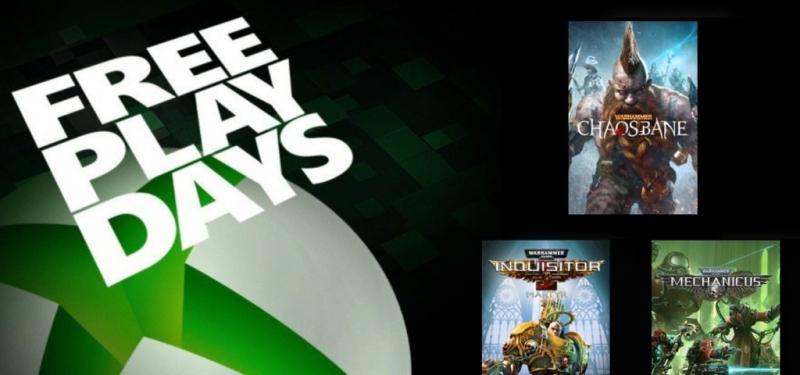 Warhammer: Inquisitor-Martyr, Chaosbane и Mechanicus временно бесплатны для подписчиков Xbox Live Gold / Xbox Game Pass Ultimate