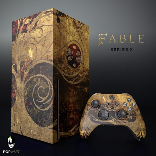 Xbox Series X Fable Edition от POPeART