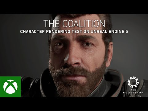 The Coalition — Character Rendering Test on Unreal Engine 5