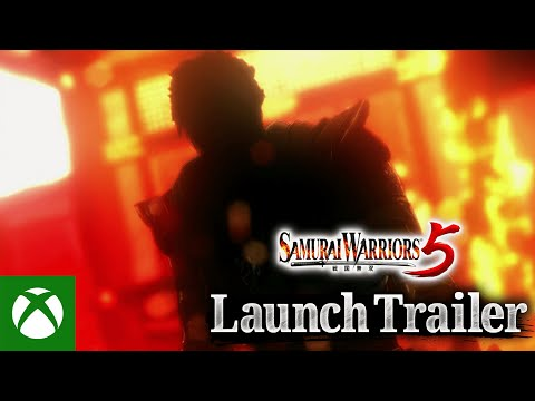 SAMURAI WARRIORS 5 — Launch Trailer